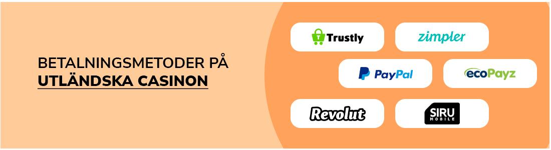 Välj Trustly och Pay N Play casino bland betalningsmetoder på casino utan spelpaus
